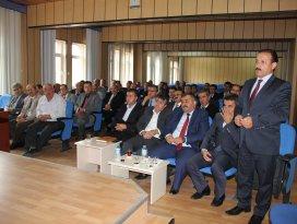Seydişehir Kaymakamı Özyiğit, okul müdürleriyle bir araya geldi