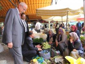 MHP adayları Seydişehirde seçmenle buluştu