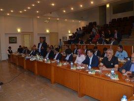 Ereğli'de belediye çalışmaları değerlendirildi