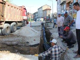 Seydişehirde su şebekesi ıslah çalışmaları