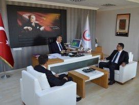 Türk Sağlık-Sen'den Darılmaz'a ziyaret