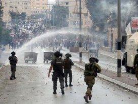 Batı Şeriada 14 Filistinli yaralandı