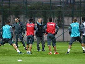 A Milli Futbol Takımı hazırlıklarını sürdürüyor
