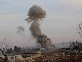 Rusya Suriyede muhaliflerin mühimmat depolarına saldırdı