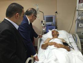 Kaza yapan partililere ziyaret