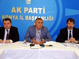 AK Parti Konya seçim çalışmalarını istişare etti