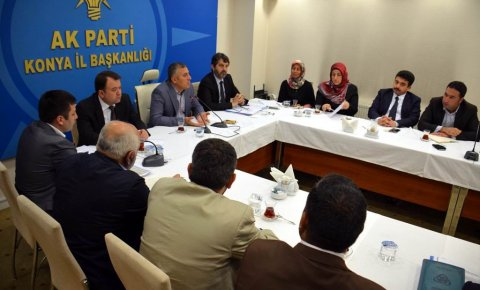 AK Parti Konyadan Bayırbucak Türkmenlerine yardım