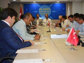 AK Parti Karatayda seçim toplantısı