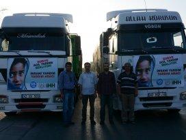 İHHdan Suriyeye iki tır insani yardım