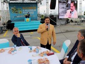 AK Partili Özdemir'in seçim çalışmaları