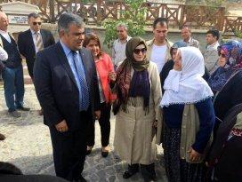 Şehit ailelerinden Ereğli'ye ziyaret