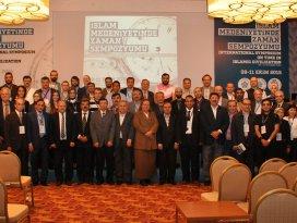 Uluslararası İslam Medeniyetinde Zaman Sempozyumu sona erdi