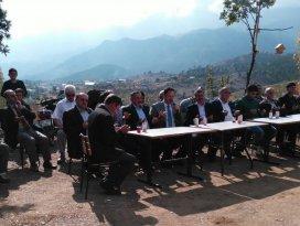 Başkan Tutal, yayla mescidinin açılışını yaptı