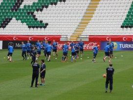 İzlanda, Türkiye maçı hazırlıklarını tamamladı
