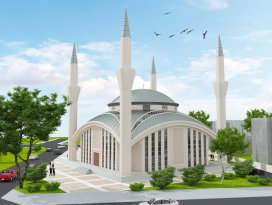 Çelebi Camii inşaatı başladı