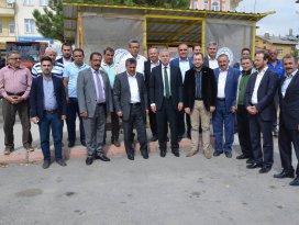 AK Parti milletvekili Kaleli, Seydişehir'de destek turunda