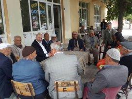 Milletvekili Baloğlu, çalışmalarına Tuzlukçu'da devam etti