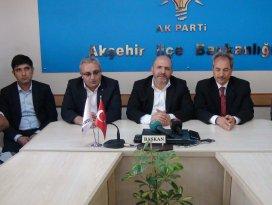 Milletvekili Baloğlu Akşehir'de seçim çalışmalarını sürdürüyor
