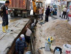 Seydişehir ve Hüyük'te içme suyu hattı yenilendi