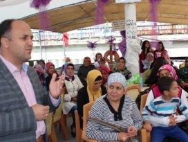 Beyşehir Belediyesinden kadın işçilere tekne gezisi ödülü