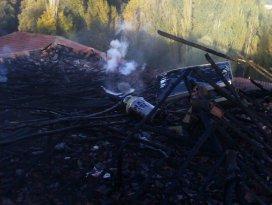 Beyşehir'de korkutan yangın