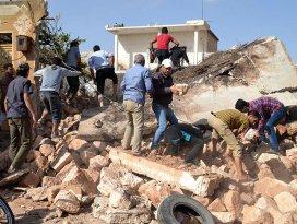 Rusyanın hava saldırısında 42 sivil öldü