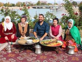 Beyşehir'in yöresel lezzetleri ada üzerinde görücüye çıktı