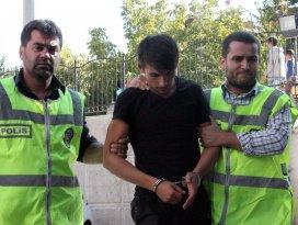 Güvenlik kamerasının kaydettiği gaspçılar yakalandı