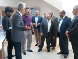 AK Parti Milletvekili Özdemir ziyaretlerde bulundu
