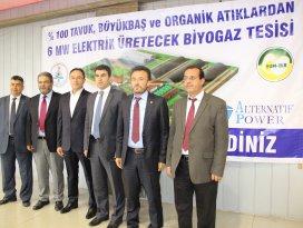 Çumra'ya 17 milyon dolarlık enerji yatırımı
