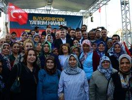 Ereğli'de Başkan Akyürek'e sevgi seli