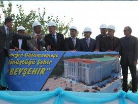 Beyşehir Kültür ve Yaşam Merkezinin temeli atıldı