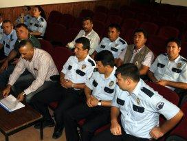 Beypazarında polislere hizmet içi eğitim