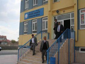 Konya İl Genel Meclisinden okullarda inceleme