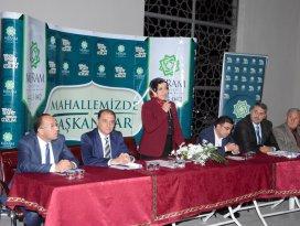 Meram'da mahalle istişare toplantıları sürüyor