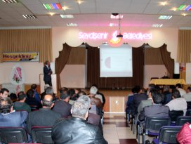 Seydişehir Belediyesi proje eğitimine ev sahipliği yaptı