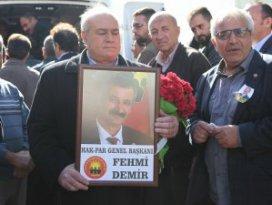 HAK-PAR Genel Başkanı Demir Cihanbeylide toprağa verildi
