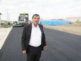 Başkan Dere, yol çalışmalarını inceledi