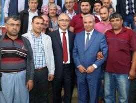 Mersinde MHP ve CHPden AK Partiye büyük katılım