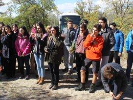 Öğrenciler erozyon sahasını gezdi