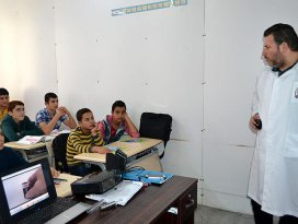 Hedefleri Geleceğin Suriyesinde görev almak