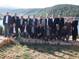 Ak Partili milletvekilleri Derbent'i ziyaret etti