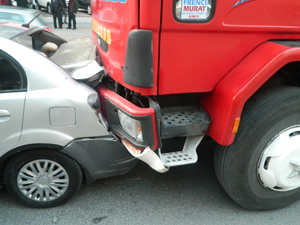 Konyada zincirleme trafik kazası!