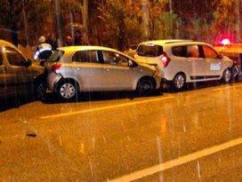 Şehir merkezlerine mevsimin ilk karı düştü