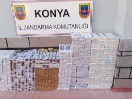Zuladan 20 bin liralık sigara çıktı
