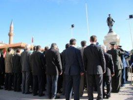 Konya'da 10 Kasım kutlamaları