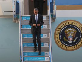 ABD Başkanı Obama Antalyaya geldi