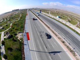 Ankara Yolu'na muhteşem parklar