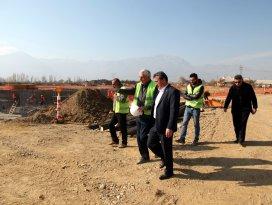 Başkan Tutal, arıtma tesislerini inceledi