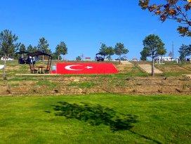 Seydişehirde yapımı tamamlanan park hizmete açıldı